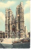 Bruxelles - CP - Brussel - Collégiale Ste Gudule - Multi-vues, Vues Panoramiques
