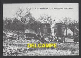 DF / 25 DOUBS / BESANÇON / LES ROMANICHELS À SAINT-FERJEUX / GITANS / BOHÉMIENS - Besancon