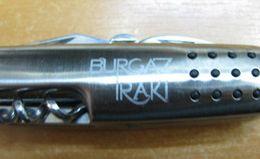 AC - BURGAZ RAKI STEEL POCKET KNIFE, BOTTLE OPENER, CORKSCREW, SCISSORS 9 FUNCTIONS - Tools
