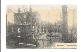 Montigny Sur Sambre  ( M 3934 )  Ruine De Guerre 14-18 Château De Mlle.Pierard - Charleroi