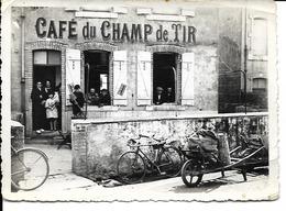 54 - Saint-Nicolas De Port - Café Du Champ De Tir (photographie) - Saint Nicolas De Port