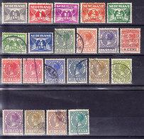 PAYS BAS Y&T N° 165/85, CANCELED . (8B9) - 1891-1948 (Wilhelmine)