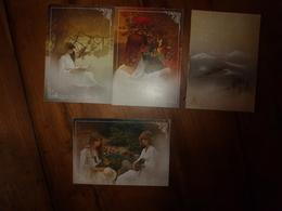"""Lot De 4 CPA Dont 3 De La Collection """"REGARDS"""" De Frédéric Maury, édition Yvon - Postcards"""