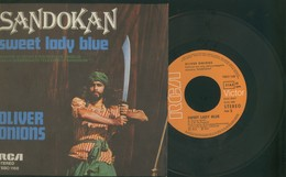 SANDOKAN -SWEET LADY BLUE -OLIVER ONIONS -DISCO 45 GIRI 1976 - Filmmusik
