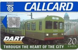 Ireland - Eircom - DART - Through The Heart Of The City - 20Units, 05.1996, 100.000ex, Used - Ireland