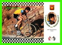 SPORTS CYCLISME - JOSE PESARRODONA, ESPANA -  No 19 SERIE CICLISMO - - Cyclisme