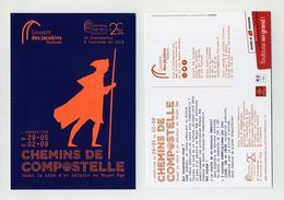 CP Pub Neuve Chemins De Compostelle - Exposition Au Couvent Des Jacobins, Toulouse, 2018. Camino De Santiago - Ausstellungen