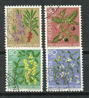 Suiza. 1974. Pro Juventud. Plantas Venenosas Del Bosque. - Piante Velenose