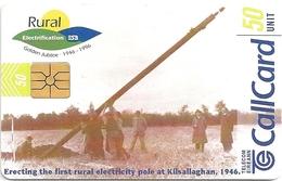 Ireland - Eircom - ESB - Rural Electrification - 50Units, 09.1996, 60.000ex, Used - Ireland