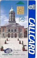 Ireland - Eircom - Ireland 1996 - Presidency Of The European Union - 50Units, 09.1996, 50.000ex, Used - Ireland