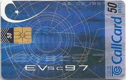 Ireland - Eircom - Eurovision Song Contest '97 - 50Units, 04.1997, 50.000ex, Used - Ireland