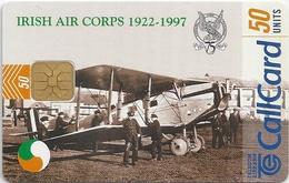 Ireland - Eircom - Irish Air Corps 1922-1997 - 50Units, 06.1997, 50.000ex, Used - Ireland