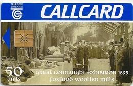 Ireland - Eircom - Foxford Wollen Mills - 50Units, 09.1995, 50.000ex, Used - Ireland