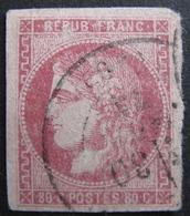 LOT FD/1725 - CERES EMISSION DE BORDEAUX N°49 - CàD - Cote : 850,00 € - 1870 Bordeaux Printing