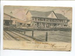 GUATEMALA Aduana Del Puerto De San José  Gare Ed Fernandez Valdeavellano Foto 1905 à SABLÉ SARTHE En L'état - Guatemala