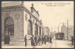 Belfort - Gare Du Chemin De Fer D'Intérêt Local - C.L.B. N°971 - Estaciones Con Trenes