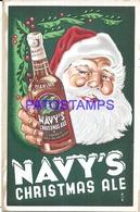 92537 US PUBLICITY COMMERCIAL NAVY'S CHRISTMA ALE CARD NO POSTAL POSTCARD - Estados Unidos
