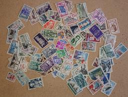 FRANCE - Lot De 1000 Timbres  Français Décollés Et Sur Fragments (voir Photos) - Lots & Kiloware (mixtures) - Min. 1000 Stamps