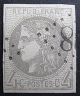 LOT FD1752/172 - CERES EMISSION DE BORDEAUX N°41B - LGC - Cote : 340,00 € - VARIETE ☛ FILET OUEST BRISE - 1870 Bordeaux Printing