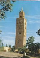MAROC---MARRAKECH---( La Mosquée De La Koutoubia )--voir 2 Scans - Marrakech