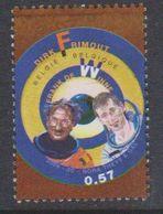 Belgium 2004 Space / Dirk Frimout - Frank De Winne / Astronauts 1v ** Mnh (38281B) - Space