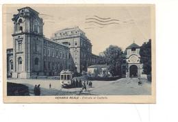 M5478 PIEMONTE Venaria Reale TORINO Tram 1938 VIAGGIATA - Other Cities