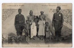 WW1 - MAROC - Tirailleurs Sénégalais - Femmes Seins Nus - Maroc
