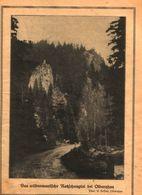Das Wildromantische Ratschungtal Bei Olbernhau / Druck, Entnommen Aus Kalender / 1933 - Books, Magazines, Comics