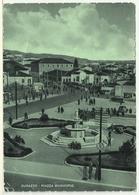 "SHQIPËRIA: Durrës - Sheshi Bashkia / ALBANIA: Durazzo - Piazza Municipio Annullo ""Uff. Concentram. Posta Militare - 402"" - Albania"