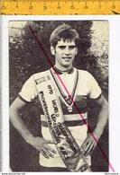 Wielr 630 - JEAN PIERRE MONSERE - ROESELARE 1948 + ONGEVAL TIJDENS WIELERWEDSTRIJD ST.PIETERS LILLE 1971 - - Cyclisme