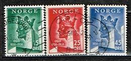 NORVEGE / Oblitérés/Used/1950 - 900 Ans Fondation D'Oslo - Norvegia