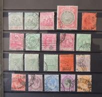 Barbados - Lagos - Selangor - Sembilan - Antigua - Guiana - Collections (without Album)