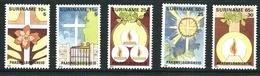 SURINAME MNH - 1984 Easter - Vari Cent - Michel SR 1075 1079 - Suriname