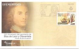 España/Spain -Sobre Primer Día-FDC  Edifil-4869 - Yvert-4573 - FDC