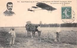 28 - Les Pionniers De L'air - L'Aéroplane Blériot évoluant Dans Les Plaines De La Beauce - Splendide Animation - Ohne Zuordnung