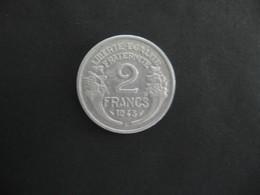 MORLON  ..2 FRANCS ..1945 C... TTB - France