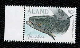 Aland 2018 Norden - Fisches 1v Complete Set  ** MNH - Aland
