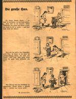 Die Gruße Hus (Cartoon In Sächsischem Dialekt) / Cartoon, Entnommen Aus Kalender / 1933 - Books, Magazines, Comics