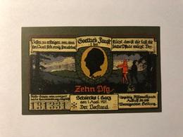 Allemagne Notgeld Schiercke 10 Pfennig - [ 3] 1918-1933 : Weimar Republic