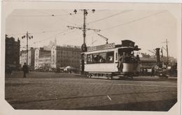 MARSEILLE (13) Le Tram 20 Aout 1933 Vers Le Vieux Port -  Tramway, Pub Suze - Places