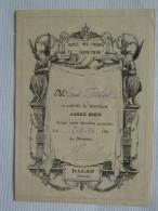 """VIETNAM  DALAT  ANNAM   ECOLE Des FRERES   """" SACRE-COEUR """"  Bulletin Scolaire Notes Hebdomadaire  1944 AV 2018  Clas 4 - Diplomi E Pagelle"""
