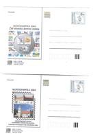 Tschechoslowakei Czechoslovakia Tchécoslovaquie Cecoslovacchia Ceskoslovensko - SLOVOLYMPFILA 2004 - Interi Postali