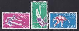 CONGO AERIENS N°  150 à 152 ** MNH Neufs Sans Charnière, TB (D6814) Sports, Jeux Olympiques De Munich - Kongo - Brazzaville