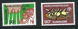 SURINAME MNH - 1984 World Food Day - Vari Cent - Michel SR 1106 1107 - Suriname