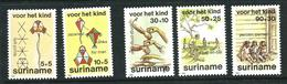 SURINAME MNH - 1984 Child Welfare - Vari Cent - Michel SR 1108 1112 - Suriname
