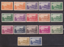 Isola Norfolk 1947-59 Serie Cpl. 17 Val. Gibbons 1-12a + Carta Bianca 1a ,2a ,3a.gomma Integra MNH** - Isola Norfolk