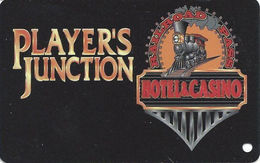 Railroad Pass Casino - Henderson, NV - BLANK Slot Card - Last Line Reverse Aligned Left - Casino Cards