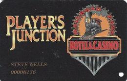 Railroad Pass Casino - Henderson, NV - Slot Card - Last Line Reverse Aligned Left - Casino Cards