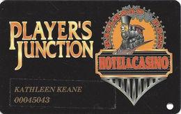 Railroad Pass Casino - Henderson, NV - Slot Card - Last Line Reverse Centered NO Space Above - Casino Cards