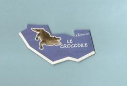 Magnet Collection Brossard Carte Afrique Le Crocodile - Animals & Fauna
